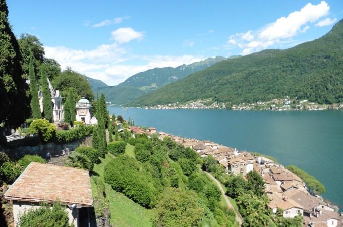 莫爾科特 Morcote ~遊 盧加諾湖 拜訪瑞士最美村莊