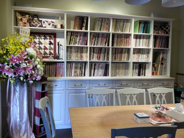 Amy Sewing Cafe 是Amy 退休創業 的夢想基地