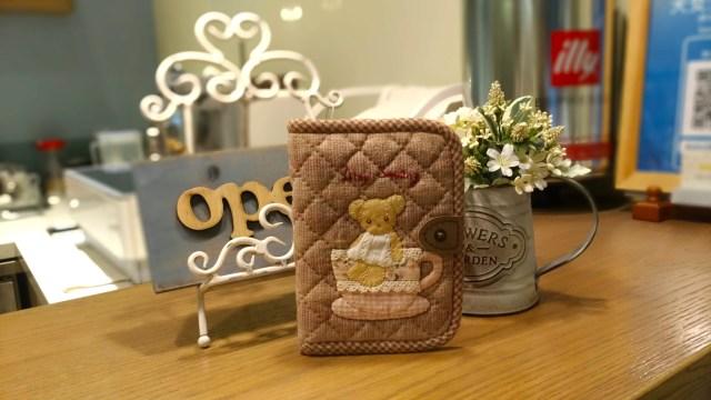Amy Sewing Cafe的拼布手作護照夾