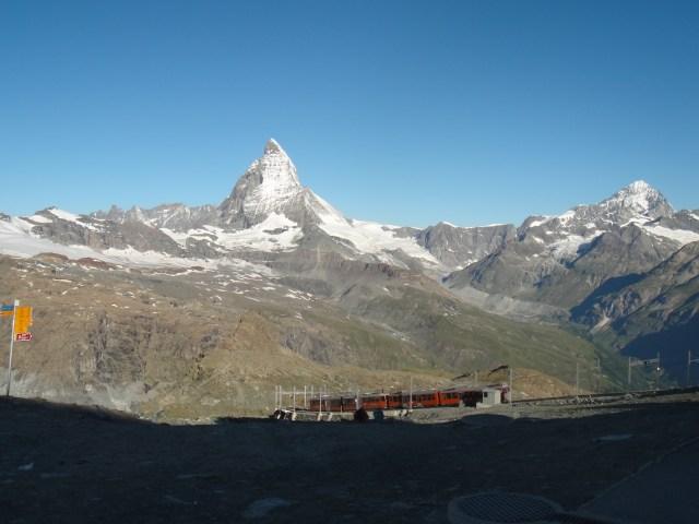 Matterhorn Railway Train