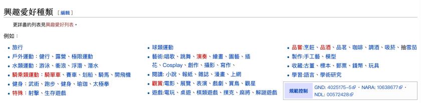 退休的人都做什麼活動 ?興趣有哪些項目 ? 維基百科的興趣清單