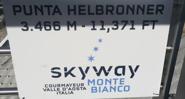 霞慕尼 重點行程 Vallée-Blanche-Cable Car在Punta Helbronner