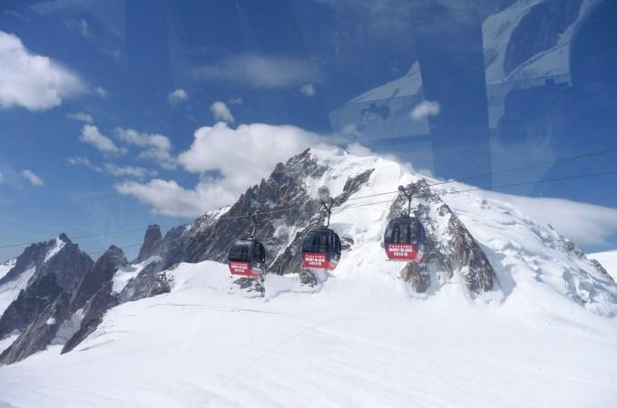 霞慕尼 重點行程 Vallée-Blanche-Cable Car 往 Punta Helbronn