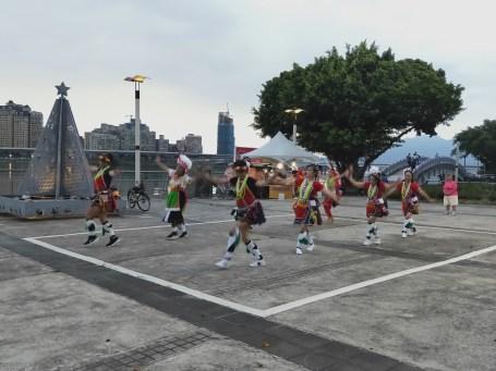 大稻埕碼頭 山地歌舞表演