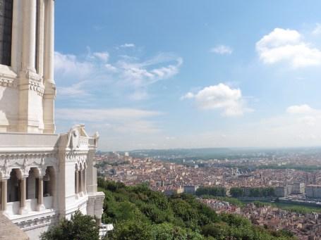里昂富維耶聖母院 眺望里昂市區