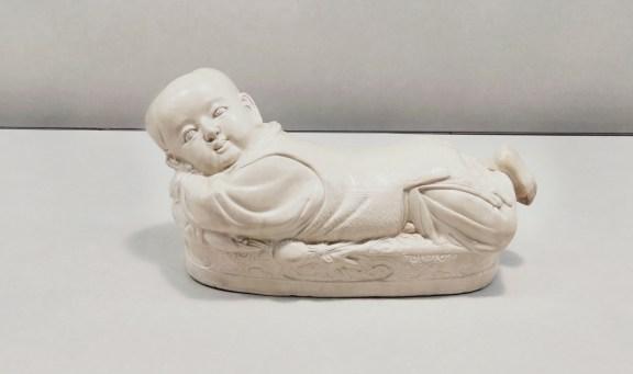 故宮 ~ 宋代定窯白瓷嬰兒枕