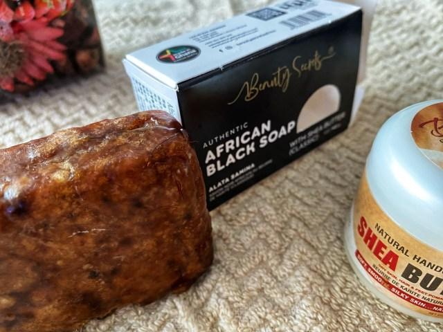 「迦納黑皂、乳木果到台灣 Beauty Secrets」非洲黑皂和乳木果油