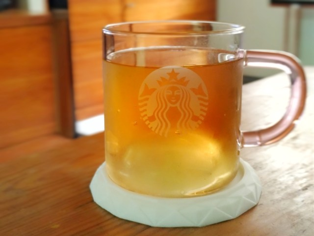 退休第一天給自己倒的冰茶