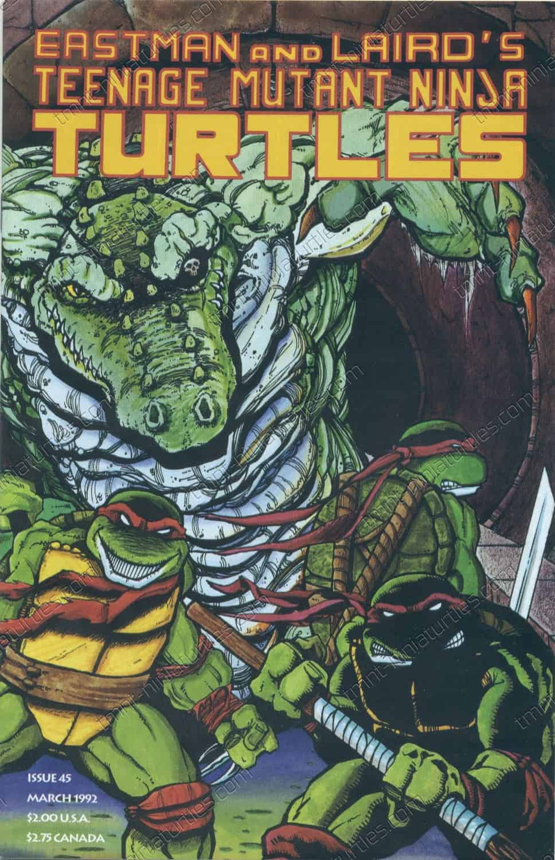 Tmnt March : march, Mirage, Studios}, Teenage, Mutant, Ninja, Turtles, (1st), 9.2-9.7, TMNT:, Collection