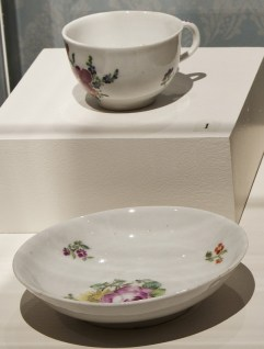 Cup and saucer, c. 1750