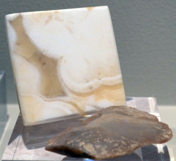 Early Russian hard-paste recipe (alabaster and flint)
