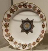 Soup plate of the Order of St. Alexander Nevsky, 1777-1780.