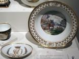 Bowl and dish, Orlov Service, c. 1763