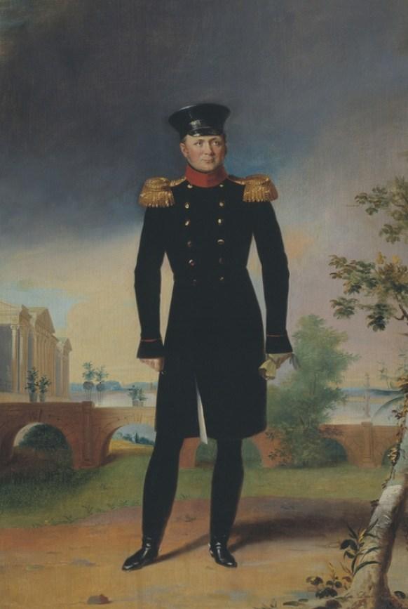Portrait of Alexander I, 1819-1822. Painting.