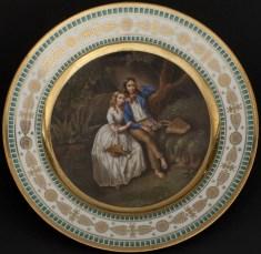 Plate, Mikhailovsky Service, 1819-1822