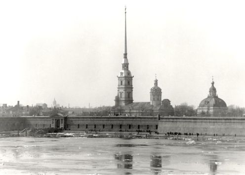 William C. Brumfield. Peter and Paul Fortress. Cathedral of Sts. Peter and Paul.. 1984. Photograph.