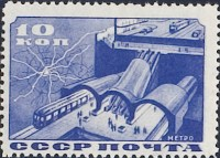 Completion of Moscow subway (1935)