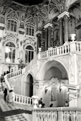 William C. Brumfield. Winter Palace. Jordan Staircase.. 1985. Photograph. 9 x 13 in..