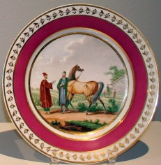 Plate, c. 1814-1820