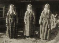 Three women in sarafans