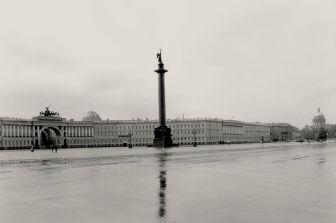 Palace Square. Alexander Column.