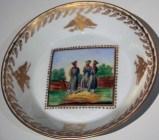 Military saucer, c. 1790