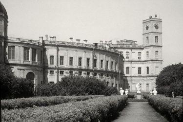 Gatchina Palace. Clock Tower.