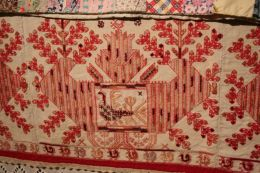Bed Skirt, 19th century. Onega and Kargopol districts, Arkhangelsk region, Russia. Private Collection of Susan Johnson. See item description for specific details.