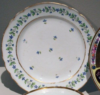 Dinner Plate from the Gatchina or Pavlovsk Palace