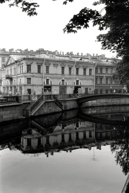 William C. Brumfield. St. Petersburg. Griboedov Canal. House No. 56.. 1995. Photograph.