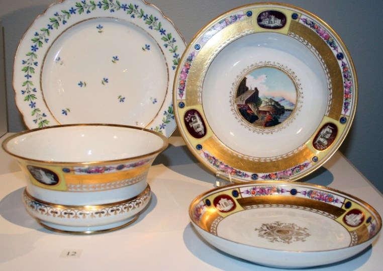 Soup Plate, Bowl and Tray, c. 1816
