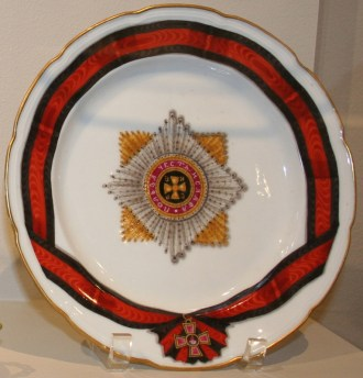 Plate of the Order of St. Vladimir. 1783-1785.