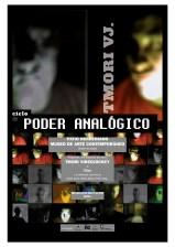 Cartel PODER ANALÓGICO 3- TMori VJ