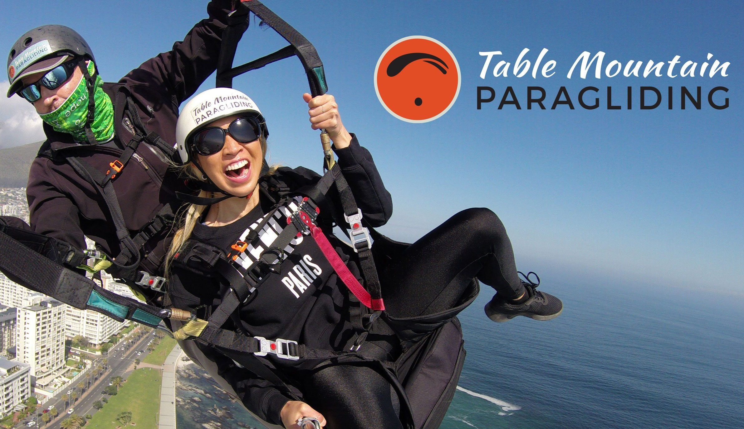 Tandem Paragliding in Cape Town Special R900.