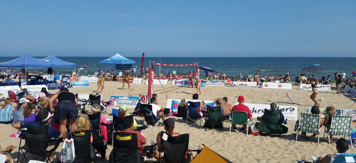 ProjectU Collegiate Beach Clinics and Showcases