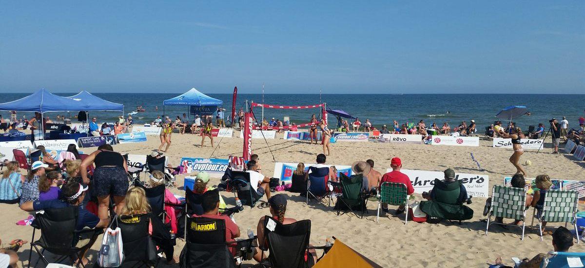 ProjectU Collegiate Beach Clinics and Showcases