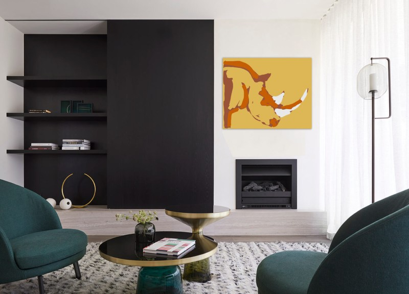 Rhinoceros 101120 - originale - peinture néo expressionnisme - tmpx