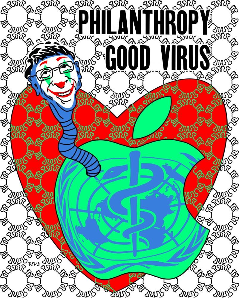 Bill Gates - originale - peinture néo expressionnisme - tmpx