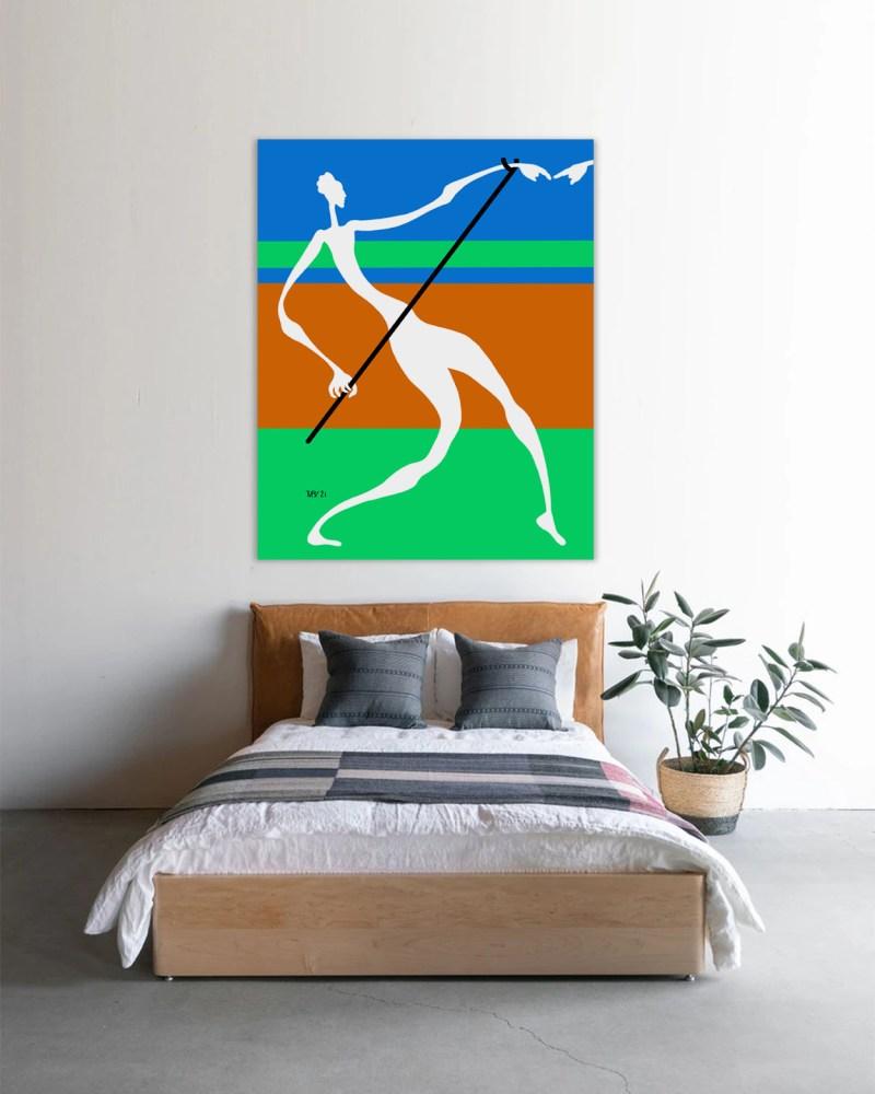 Tuteur - originale - peinture néo expressionnisme - tmpx