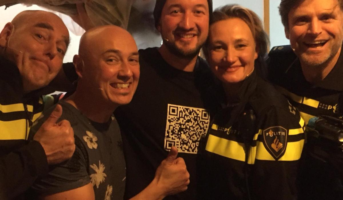 Rauw crew TheaterMakers Radio Kootwijk