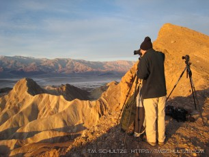 Photographing at Zabriskie Point, 2007