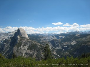 Half Dome and Merced Watershed, Monochrome