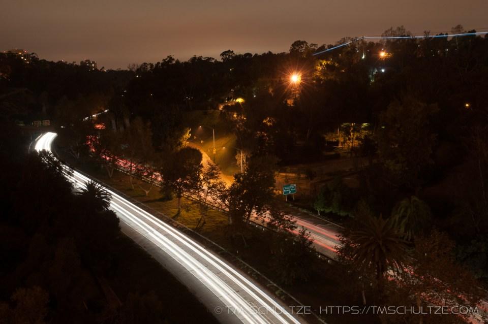 El Prado Evening View North by T.M. Schultze