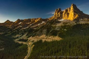 Washington Pass Sunrise