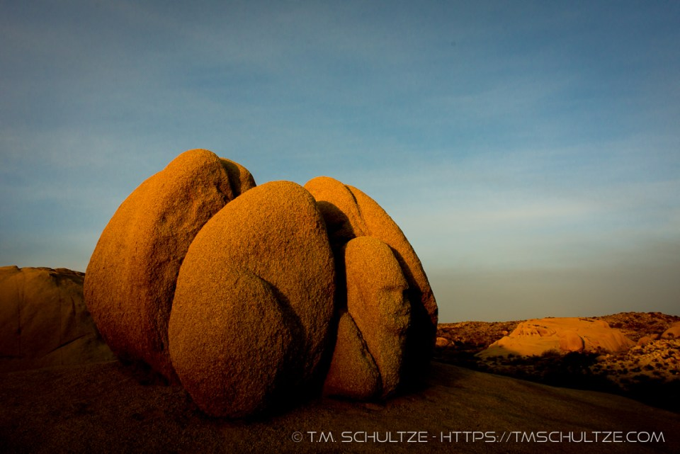 The Sphinx at Sunrise by T.M. Schultze