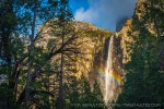 Rainbow and Bridalveil Fall by T.M. Schultze