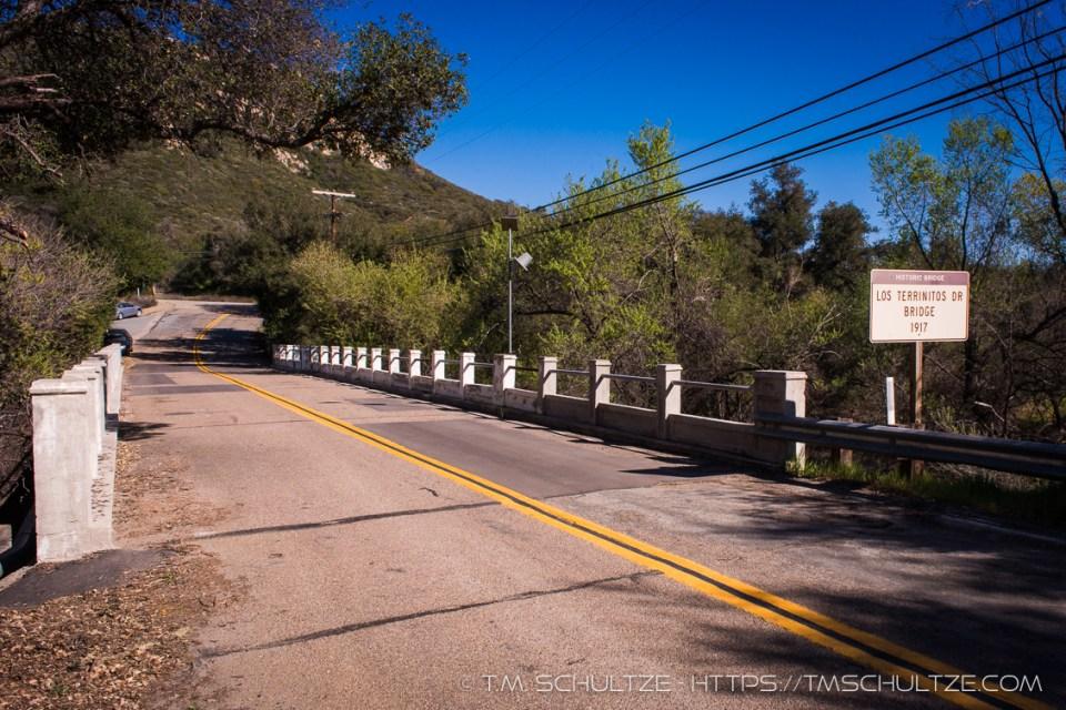 Los Terrinitos Bridge by T.M. Schultze