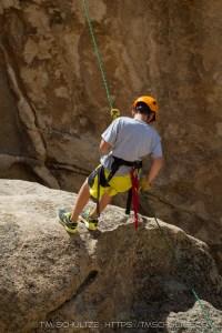 Troop 8 Rock Climbing in Joshua Tree, 2014