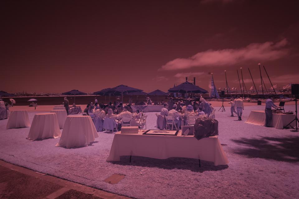 Wedding Preparations, Mission Bay, Infrared