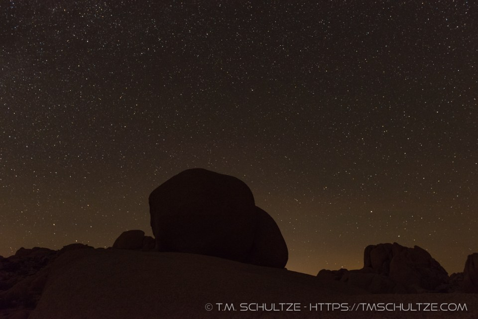Night Image of Sunkissed 1 by T.M. Schultze